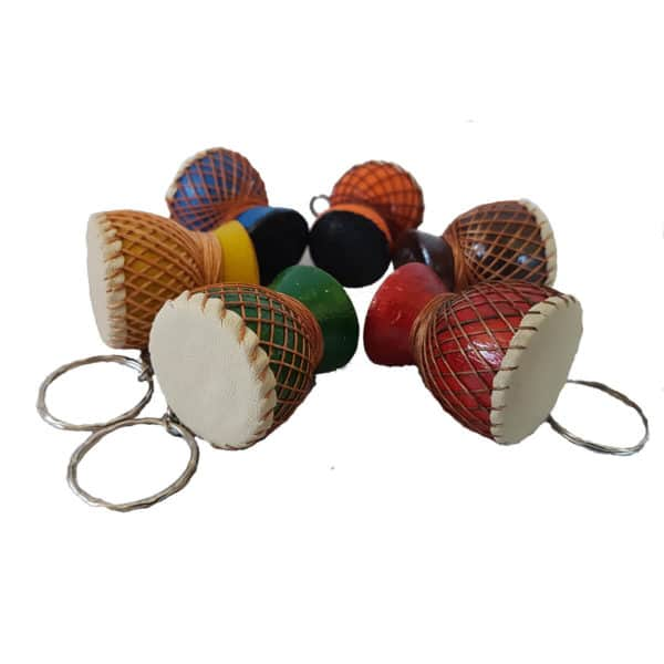 Djembe Key Ring