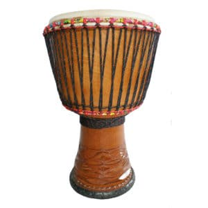 "Guinea ELITE Djembe – Made from Lenke Hardwood 12.5"" – 14"""