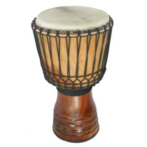 "Guinea PREMIUM Djembe – Made from Djala Hardwood 12.5"" – 14"""