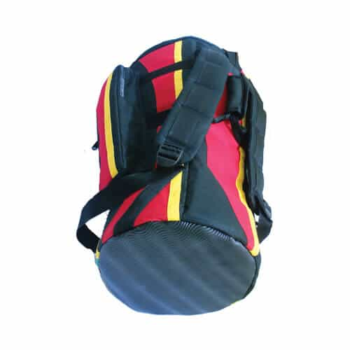 Djembe drum bag - Rasta Stripe
