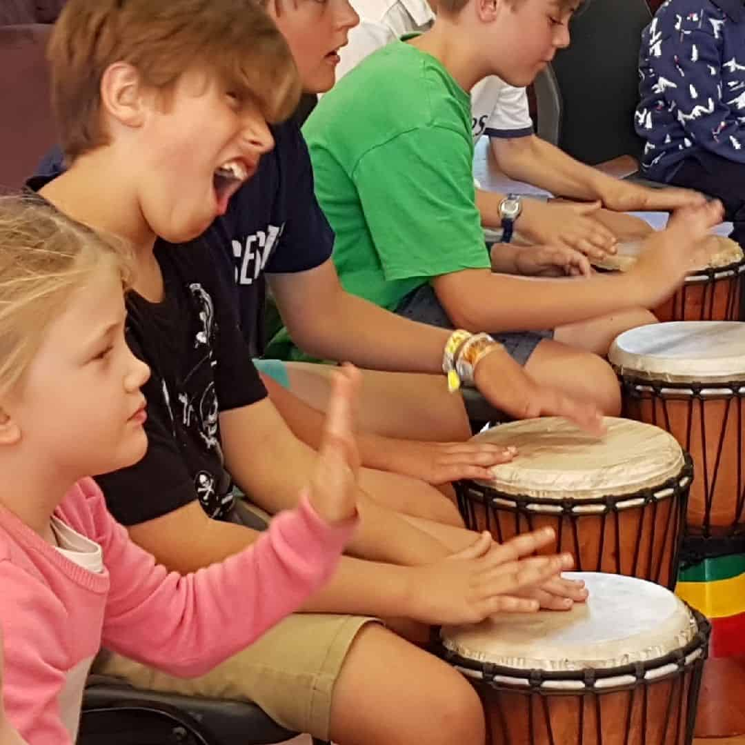 African Drumming for kids