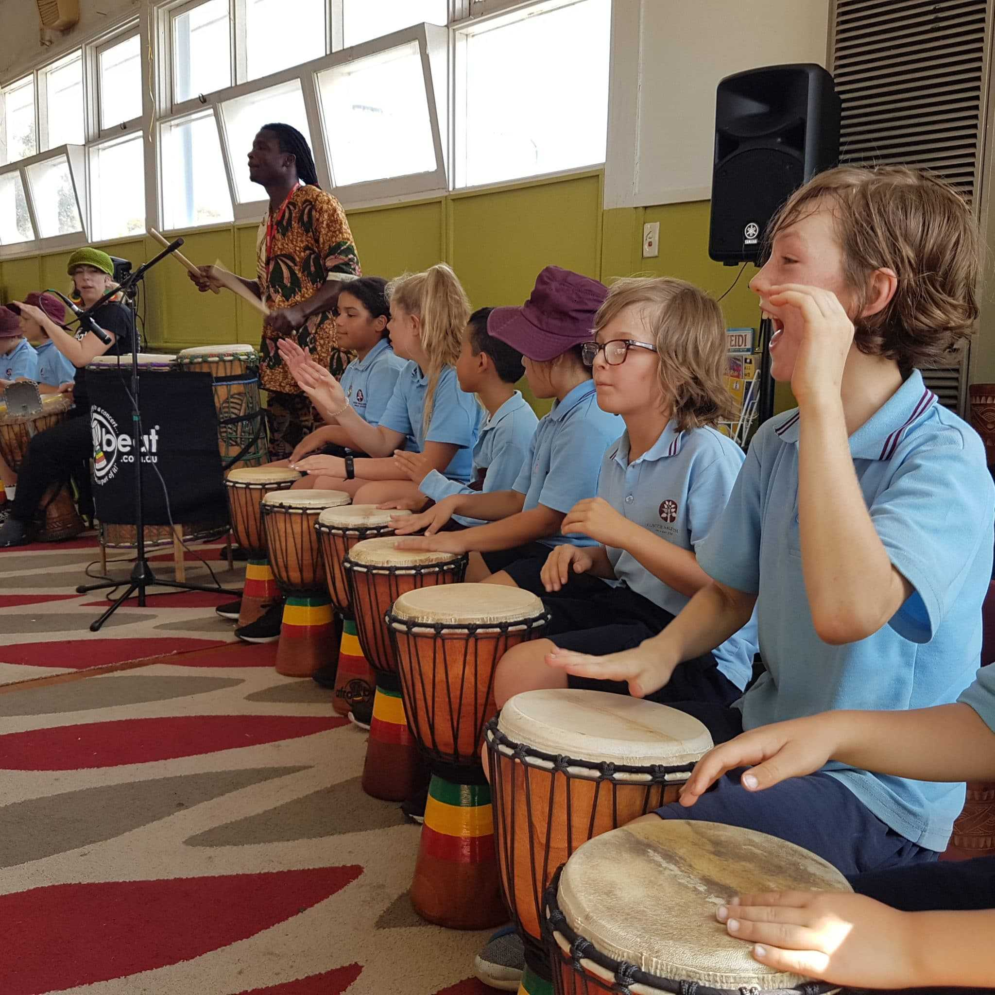 School Drumming Show